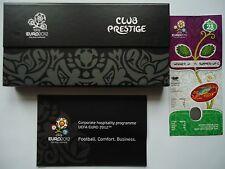 TICKET Programme Box Club Prestige UEFA Euro 2012 England - Italien Match 28