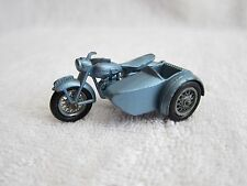 Lesney model #04 Triumph Motorcycle with Sidecar
