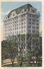 Antique POSTCARD c1910-20s Bell Telephone Building ALBANY, NY 17616
