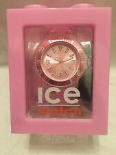 BNIB Genuine Classic Solid -Pink-Big Ice Watch. RRP £89.95