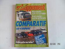 ECHAPPEMENT N°210 04/1986 Les 4 soupapes - Ferrari 328 - BMW M5    J63