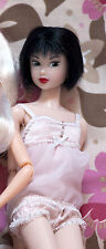 """Momoko Petworks CCS lingerie """"Follow My Back"""" '07 All-in-one baby pink 1/6 size"""