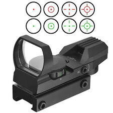 5 MOA Red Dot Sight Green Reflex Holographic Scope Tactical Rifle Pistol Reticle