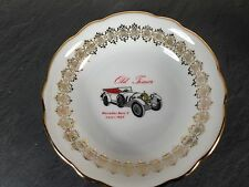 coupelle petite assiette porcelaine bavaria decor car mercedes benz