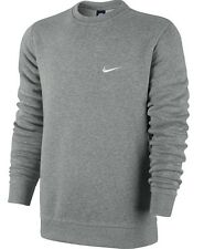 New Men's Nike Club Swoosh Crewneck Sweatshirt 611467 063 2XL NWT