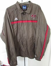 NFL Tampa Bay Buccaneers Quarter Zip Jacket Large by Adidas EUC