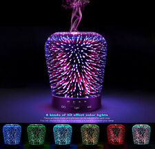 New Essential Oil Aroma Diffuser Ultrasonic Humidifier Aromatherapy 3D SZTROKIA
