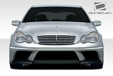 01-07 Mercedes C Class W203 AMG V2 Look Front Bumper 1pc Body Kit 108244