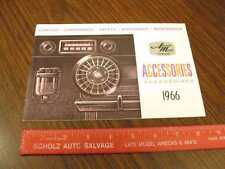 1966 AMC American Motors Accessories Sales Brochure