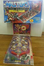 Vintage 1983 Masters of the Universe Pinball Game Mattel w/ Box EXTREMELY RARE