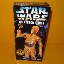 "1997 HASBRO STAR WARS THE KENNER COLLECTION C-3PO 12"" ACTION FIGURE BOXED RARE"