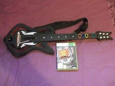 GUITAR HERO WARRIORS OF ROCK-GIOCO E Chitarra BUNDLE (XBOX 360) + gh5 & ghwt