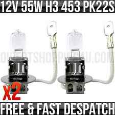 12v 55w H3 PK22s Halogen Headlight Headlamp Spot & Fog Bulbs 453 x 2