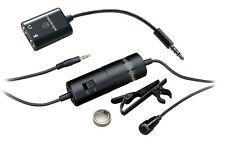 Audio-Technica ATR3350iS Omnidirectional Condenser Lavalier Mic for Smartphones