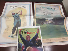 PGA-1999 RYDER CUP- THE COUNTRY CLUB 9/23/ GLOBE SEC.C/DIGEST &SPECTATORS GUIDE