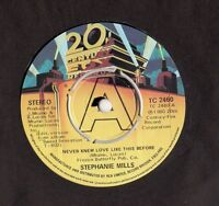 """Stephanie Mills - Never Knew Love Like This Before 7"""" Single 1980"""