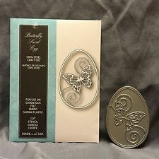 Butterfly Swirl Egg die Memory Box Dies 99350 Easter,Food