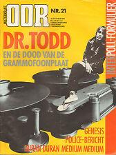 MAGAZINE OOR 1981 nr. 21 - GENESIS/POLICE/TODD RUNDGREN/SQUEEZE/HET GOEDE DOEL
