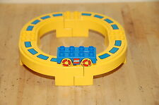 Lego Duplo Mono Rail Set Yellow Track Blue Monorail Rail