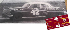 CD_2765  #42 Lee Petty   1953-54 Dodge/Plymouth  1:24 Scale Decals
