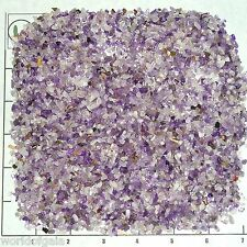 AMETHYST BANDED, 3-5mm, tumbled 1/2 lb bulk xxmini+ stones quartz purple white