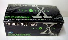 Topps X-Files Super Premium Trading Cards Sealed Box Series One New 1995 Mulder