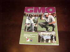 1989 Greater Milwaukee Open PGA Golf Program Greg Norman Win Tuckaway Club