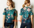 NEW Sz S Anthropologie Lily Pond Tee By Tanvi Kedia Gorgeous & flattering Last 1