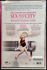Sex and the City The Complete Series (DVD, 20-Disc Set) With Acrylic Case & Book