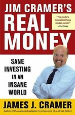 Jim Cramer's Real Money: Sane Investing in an Insane World-ExLibrary