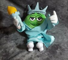 "12"" Plush Statue Of Liberty Green M&M"