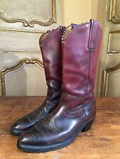 Vintage FRYE Mens Motorcycle Campus Western Boots 1960's Size 10.6