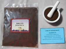 NEW MEXICO PURE ANCHO CHILE POWDER ONE POUND  Fresh!!  *Free Shipping for USA*
