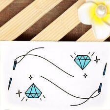 Temporäre Tattos Diamant Nadel Faden Design Temporary Körperkunst Klebetattoo