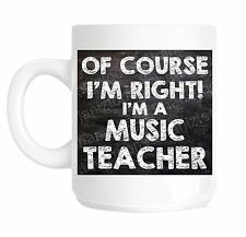 School Music Teacher Novelty Gift Mug shan778
