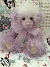 CHARLIE BEARS 2014 MOHAIR YEAR BEAR LIMITED EDITION BEAR NUMBER 1200 OF 1200