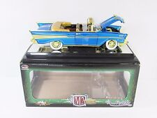 1957 Chevy Chase Bel Air Convertible R51 M2 Machines AutoThentics Tom Kelly 1/24