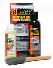 Forever Black Bumper & Trim Cleaner & Reconditioner Kit, Valeting, Detailing