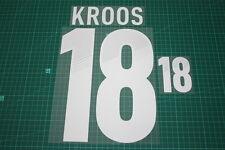 Germany 12/14 #18 KROOS Awaykit Nameset Printing