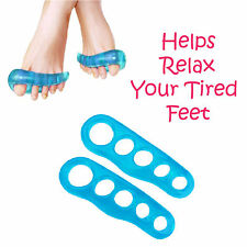 Gel Toe Separators Stretchers Straighteners Alignment Bunion Aids in Pain Relief