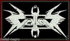 VEKTOR EMBROIDERED PATCH ONSLAUGHT AGENT STEEL ANGEL DEATH SACRED Metal Negro