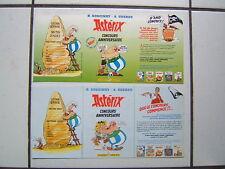 UDERZO  /  ASTERIX  /  2 DEPLIANTS CONCOURS ANNIVERSAIRE / 1994