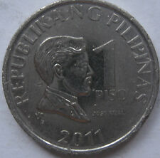 Philippines 1 Piso 2011 coin