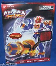 Power Rangers Ninja Storm STORM LIGHTING MEGAZORD New w Lights & Sounds!