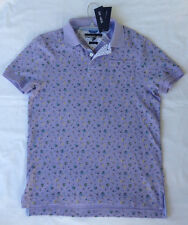 new Tommy Hilfiger Polo Shirt 7835519-533 Slim Fit Champagn Grape Men's XL Purpl