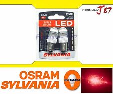 Sylvania ZEVO Led 2357 Red Two Bulbs P21/5W P21/4W Upgrade Replace Fit Stop