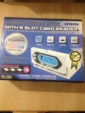 Multi funzione termica pannello di controllo con 5 slot card reader