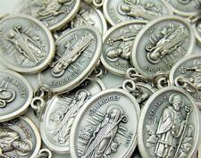 MRT Lot Of 15 St Brigid & Saint Patrick Medal 2 Sided Pendant Irish Patron Gift
