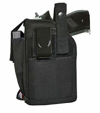 BELT & CLIP HOLSTER W/ MAG POUCH FOR RUGER SR9 SR40 W/LIGHT/LASER *MADE IN USA*