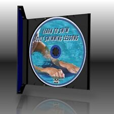 ADULT BEGINNERS SWIMMING & WATER SAFETY  LESSONS NEW DVD SIMPLE LEARN TO SWIM